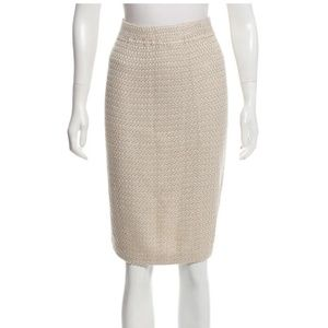 St. John Couture by Marie Gray Knit Pencil Skirt